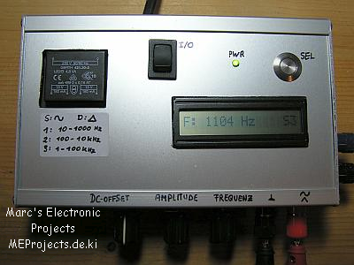 Frequency Generator – MeProjects sytes net